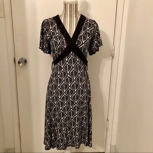 H & M tie up dress size 8